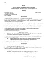 2014-10-14 Board of Trustees Meeting Minutes