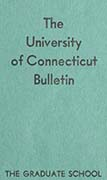 University of Connecticut Graduate Catalog