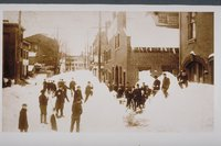 Blizzard of 1888, New Haven