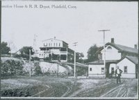 Junction House And Railroad Depot, Plainfield