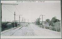 Willimantic-south Coventry Line, Southern Approach To Crossing, South Coventry