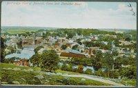 Bird's-eye View Of Norwich And Shetucket River, Norwich