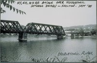 Former New York, New Haven And Hartford Railroad Bridge Over Housatonic River Between Derby And Shelton