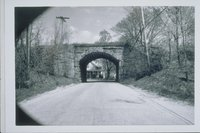 Railroad Bridge, Arch Street, View East, Putnam