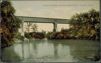 Railroad Bridge Over Quinebaug River, Putnam