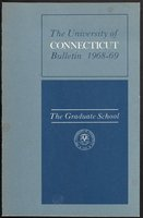 University of Connecticut Graduate Catalog, 1968-1969