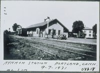 New York, New Haven And Hartford Railroad Station, Portland
