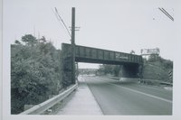 Middletown Avenue Railroad Bridge, View Northeast, New Haven