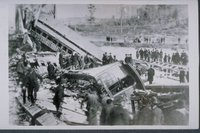 Train wreck, Tariffville