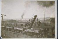Loading Railroad Cars Along The Housatonic River, New Milford