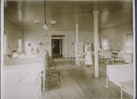 Nurses On The Ward, Middlesex Hospital Training School