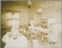 Operating Room, Middlesex Hospital