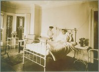 Nurse With Patient, Middlesex Hospital