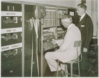 Official Inauguration Of The American Brass Company's New Bellfast Teletypewriter System