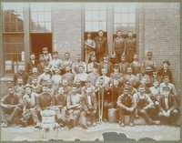 Benedict & Burnham Manufacturing Company, Casting Shop Employees