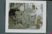 Workers At Double Cylinder Planer