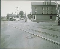 Union Street Railroad Crossing, Looking North, Willimantic