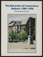 University of Connecticut Graduate Catalog, 1989-1990
