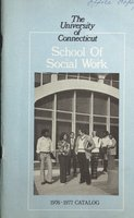 University of Connecticut. School of Social Work, 1976-1977