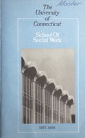University of Connecticut. School of Social Work, 1977-1978
