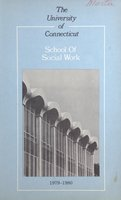 University of Connecticut. School of Social Work, 1979-1980
