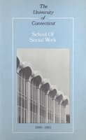University of Connecticut. School of Social Work, 1980-1981