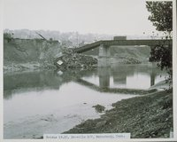 Flood Of 1955, East Of Naugatuck River Scoville Side Track, Waterbury