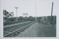 Middletown Avenue Railroad Bridge, View Southeast, New Haven