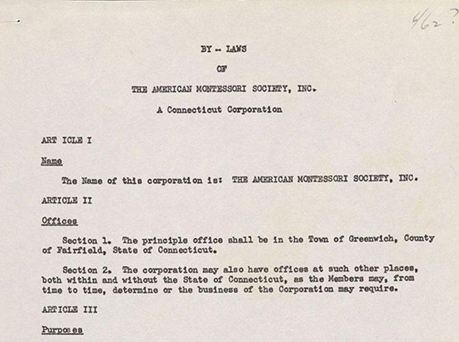 Administrative Records