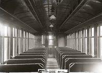 Interior view of New Haven Railroad coach 1920