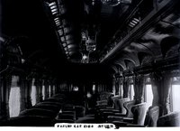 Interior view of New Haven Railroad parlor car 2124