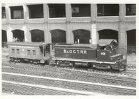 Baltimore & Ohio Chicago Terminal Railroad locomotive 9511