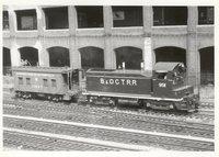 Baltimore & Ohio Chicago Terminal Railroad locomotive 9511