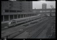 Chicago, Milwaukee, St. Paul and Pacific Railroad observation locomotive on train 5, the