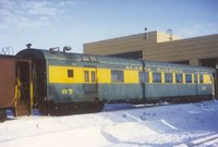 Alaska Railroad passenger car 87