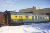 Alaska Railroad passenger car 87