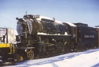 Alaska Railroad locomotive 557