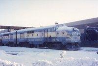 Alaska Railroad locomotive 1074