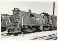 Southern Pacific Railroad locomotive 4641