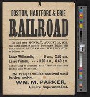 Boston, Hartford and Erie Railroad