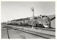 Western Pacific Railroad locomotives 805A, 805B, and 802B