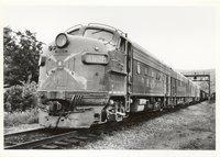 Baltimore & Ohio Railroad diesel locomotive 4629