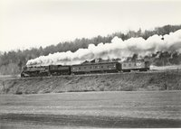 Canadian National Railway steam locomotive 6218