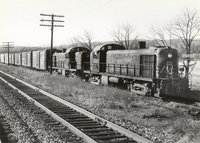 Lehigh Valley Railroad diesel locomotives 212 and 213