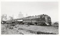Baltimore and Ohio Railroad diesel locomotive 1454