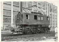 Pennsylvania Railroad electric switcher boxcab 4651 (Penn Central number)