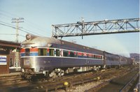 Amtrak observation-lounge car 3345
