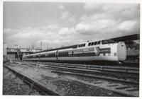 Amtrak turbo locomotives 56, 78, 79, and 57