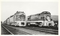 Delaware & Hudson Railway locomotives 1205, 1216 and 1776