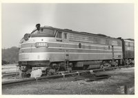 Amtrak locomotive 489